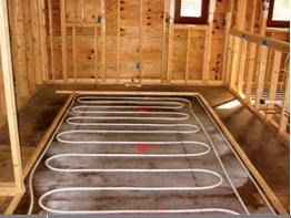 Radiant In-Floor Heat