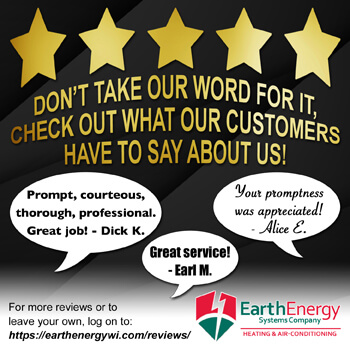 Earth Energy Systems Heating Products and Services Cooling Wisconsin WI