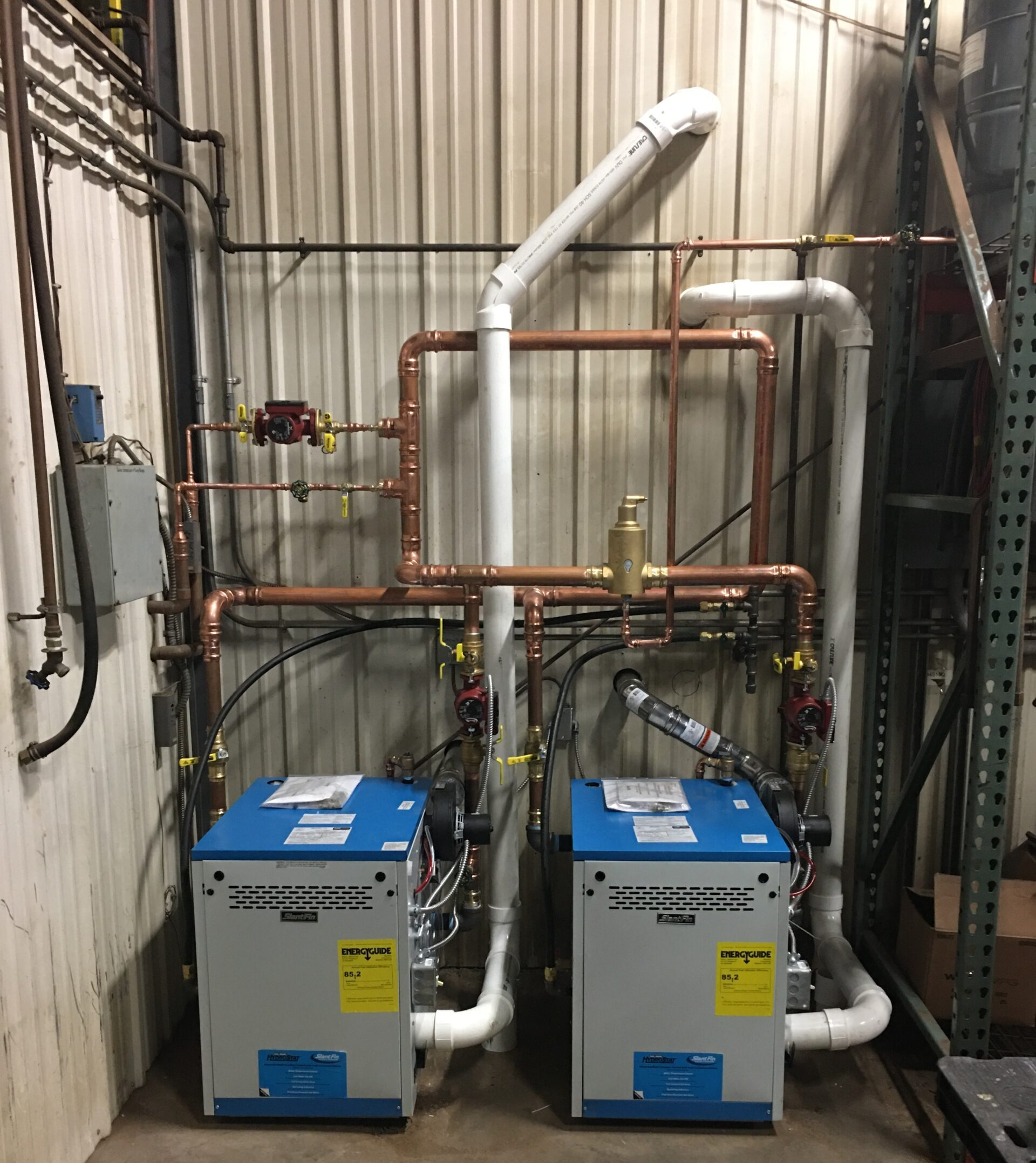 Slant Fin Custom Boilers